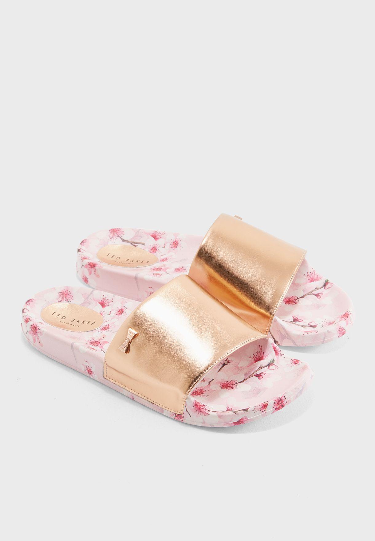 973894108 Shop Ted baker pink Aveline Slide 916871 for Women in Saudi ...