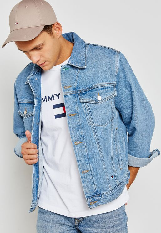 Capsule Tommy Jeans 90s Logo Denim Jacket
