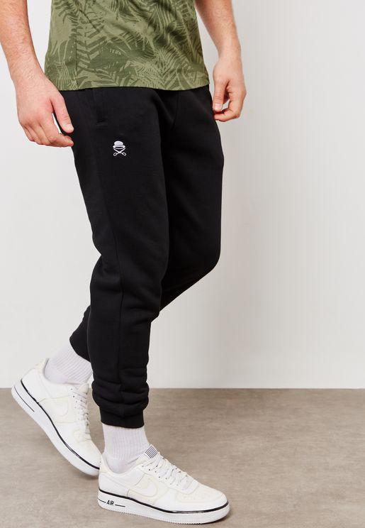 Small Icon Cuffed Sweatpants