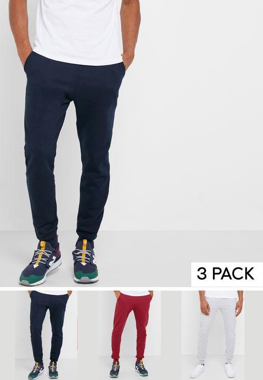 3 Pack Sweatpants