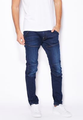G-Star Raw Devon Stretch Relaxed Mid Wash Jeans