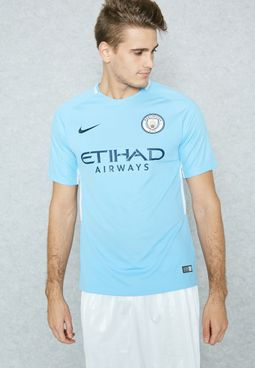 Manchester City 17/18 Home Jersey
