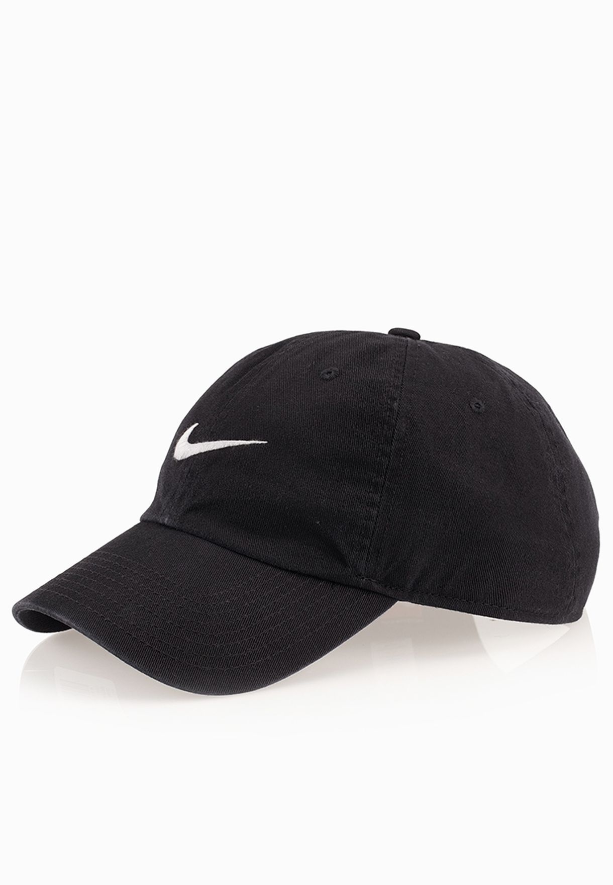 10ed126c1a4 Shop Nike black Heritage 86 Swoosh Cap 546126-010 for Men in UAE ...