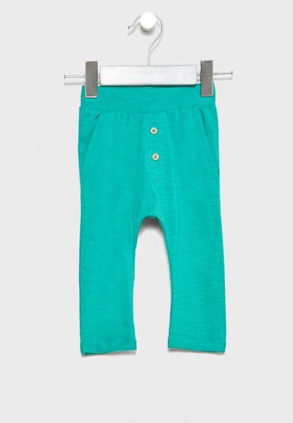 Infant Button Detail Pants