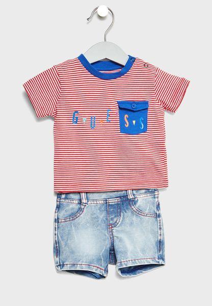 Infant T-Shirt + Shorts Set