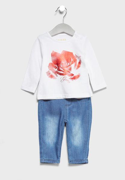 Infant T-Shirt + Leggings Set