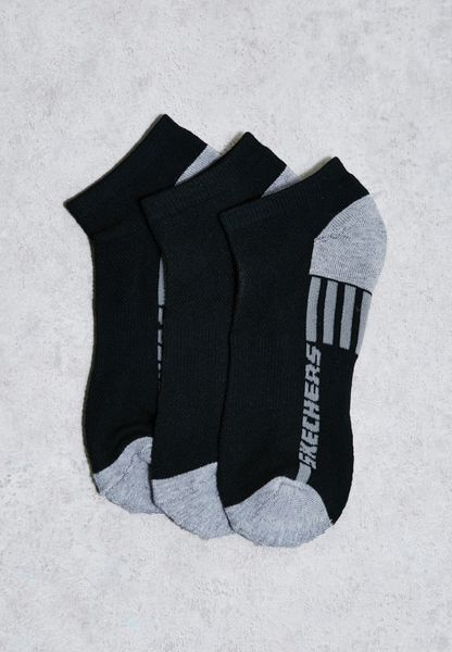 3 Pack Low Cut Socks