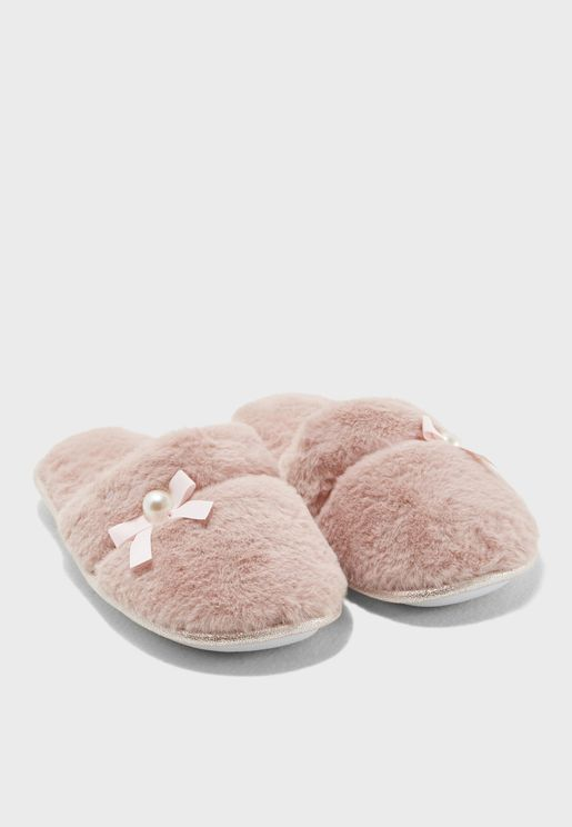 Plush Mule Slip On