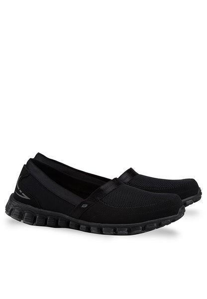 Buy Discount Skechers Ez Flex Take It Easy Women Black Comfort Shoes