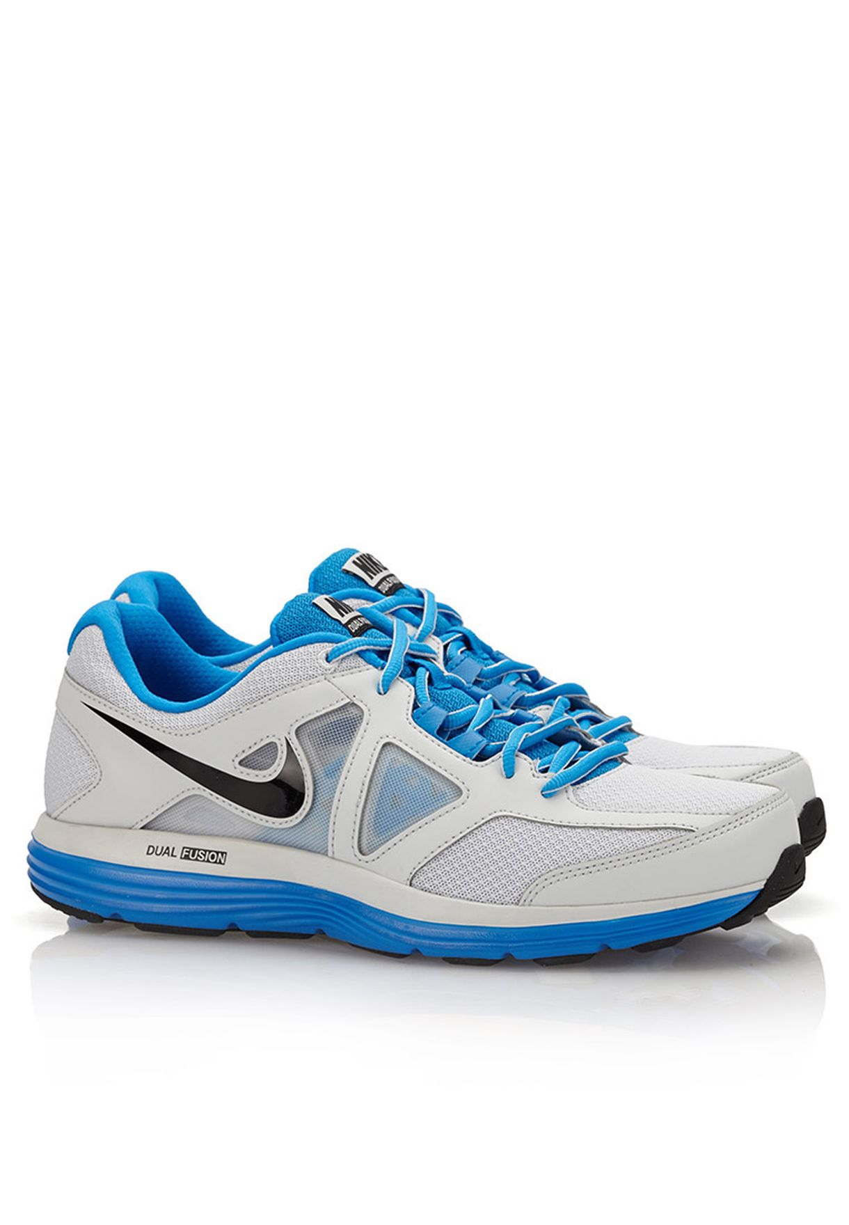 4ed8d9c17045c Shop Nike white Dual Fusiom Lite 2 MSL 642821-007 for Men in Qatar ...