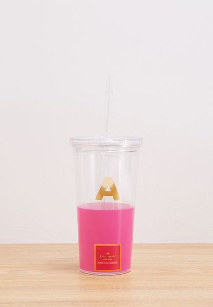 A Initial Insulated Tumbler