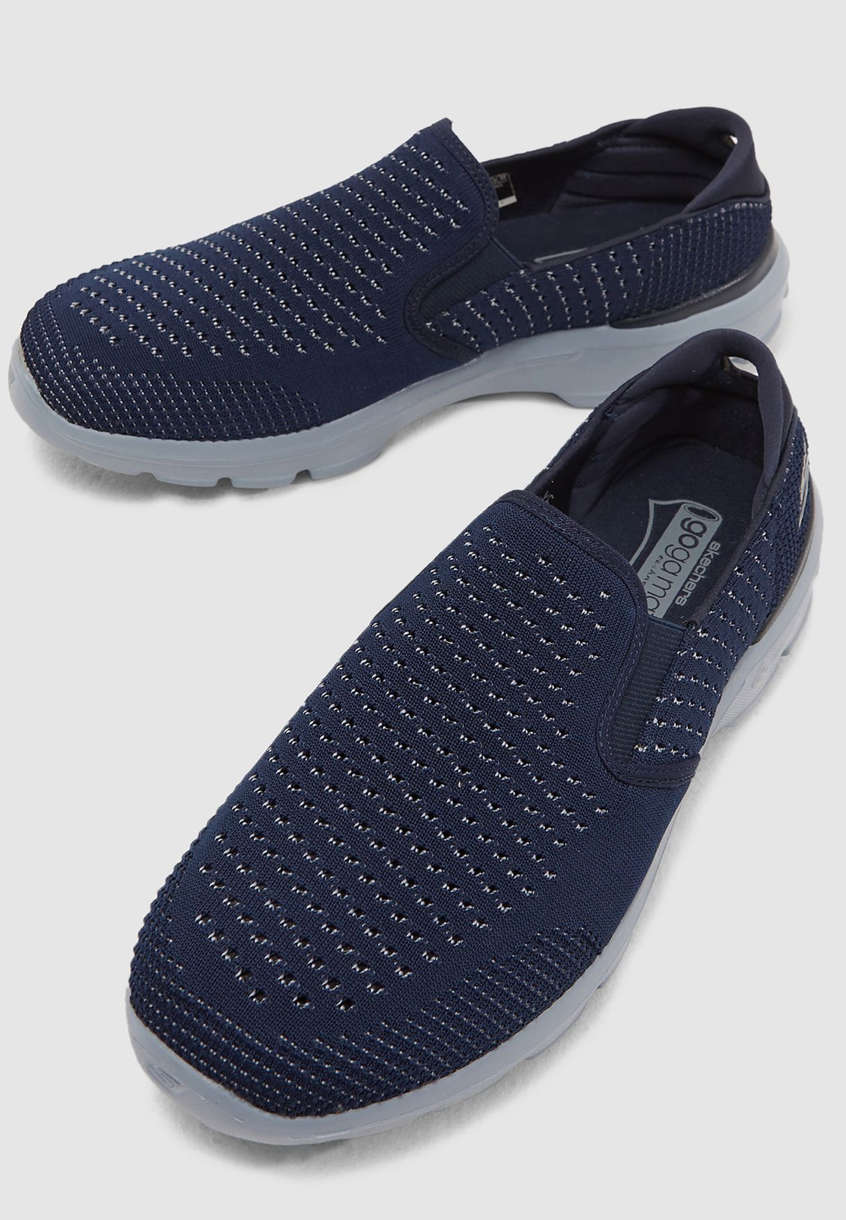 9ab702b7b Shop Skechers navy Go Walk Premium 55049-NVGY for Men in UAE ...