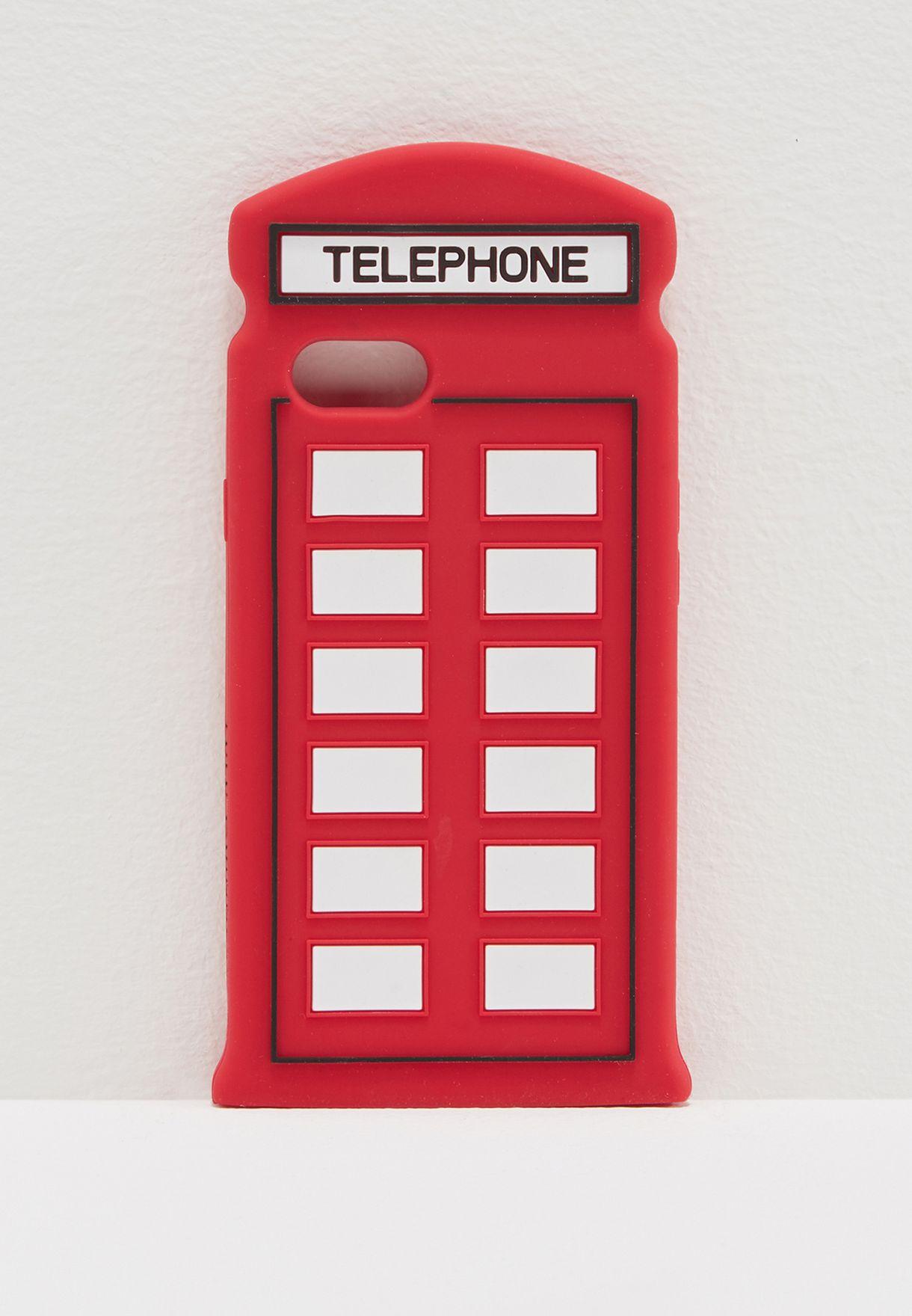 bda810526 تسوق حافظة هاتف ايفون 7 ماركة لولو غينيس لون أحمر 50129898 في ...