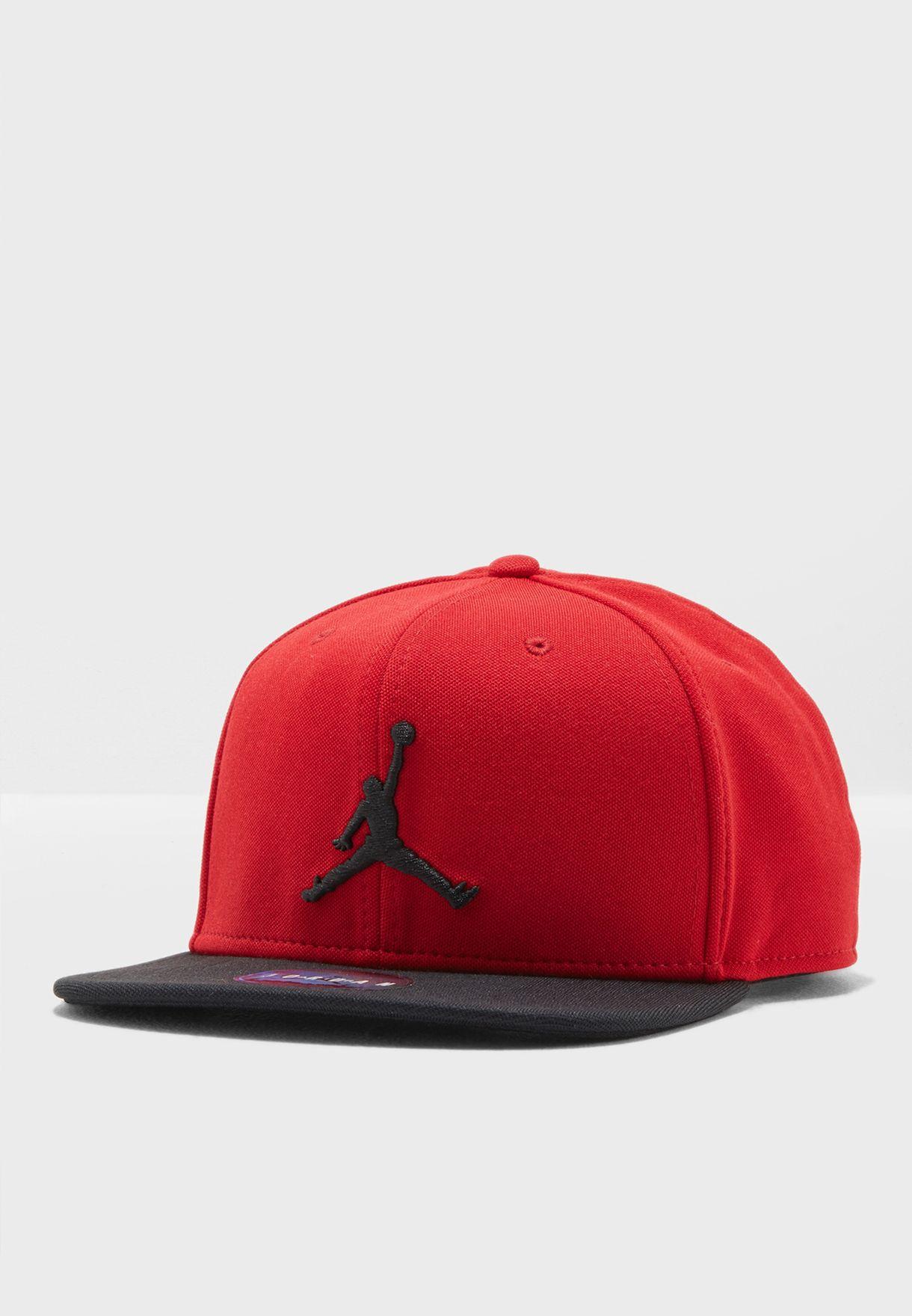 7a21dc7f Shop Nike red Jordan Jumpman Snapback 861452-687 for Men in UAE ...