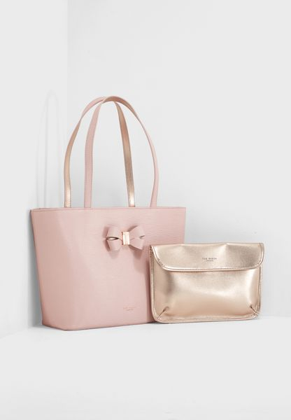 Small Bowmisa Bow Detail Shopper
