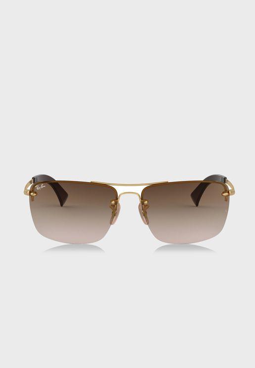 0RB3607 Bridge Sunglasses