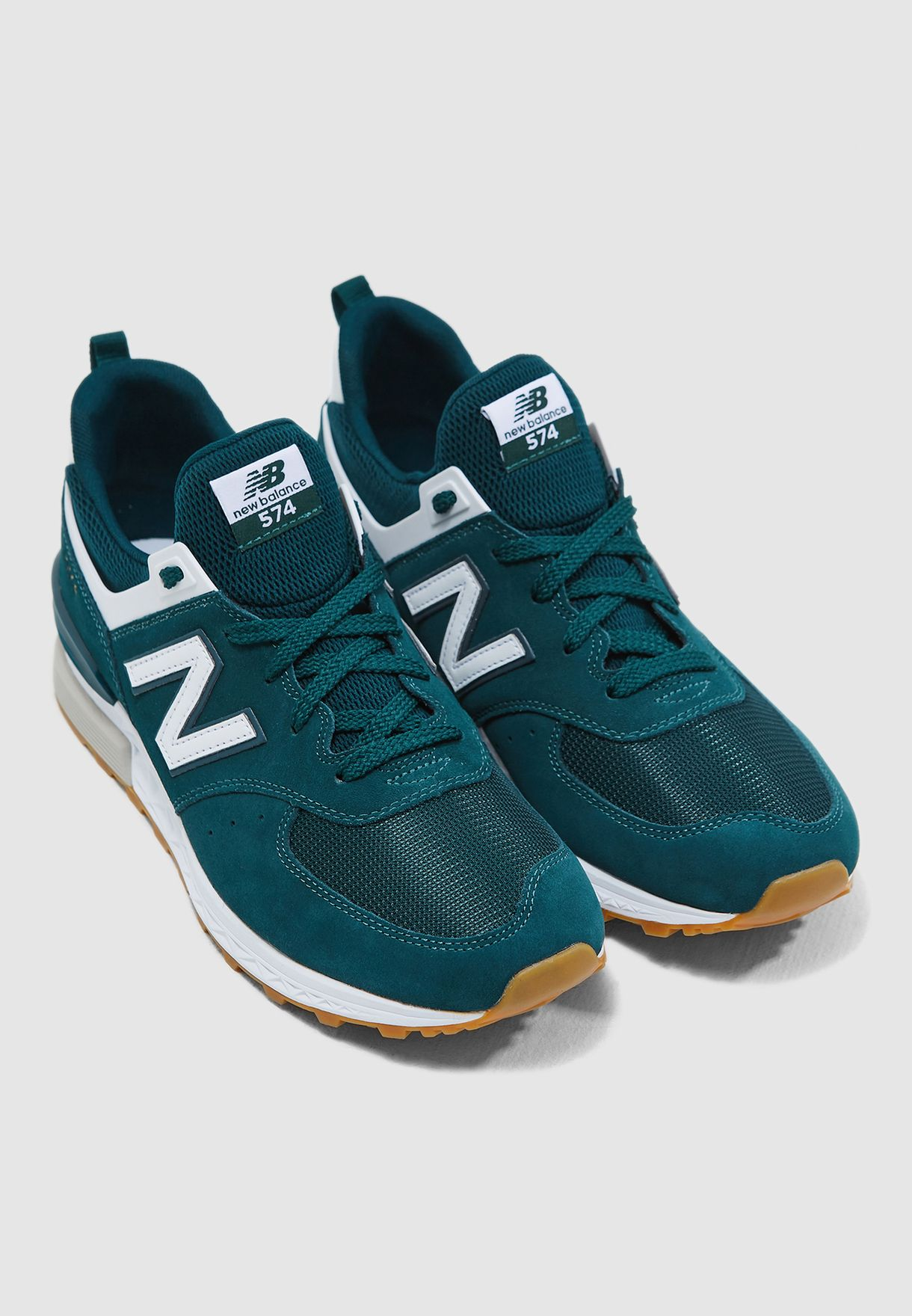 buy popular 3d8a6 98158 Shop New Balance green 574 Sport MS574FCJ for Men in UAE - NE011SH27PAI