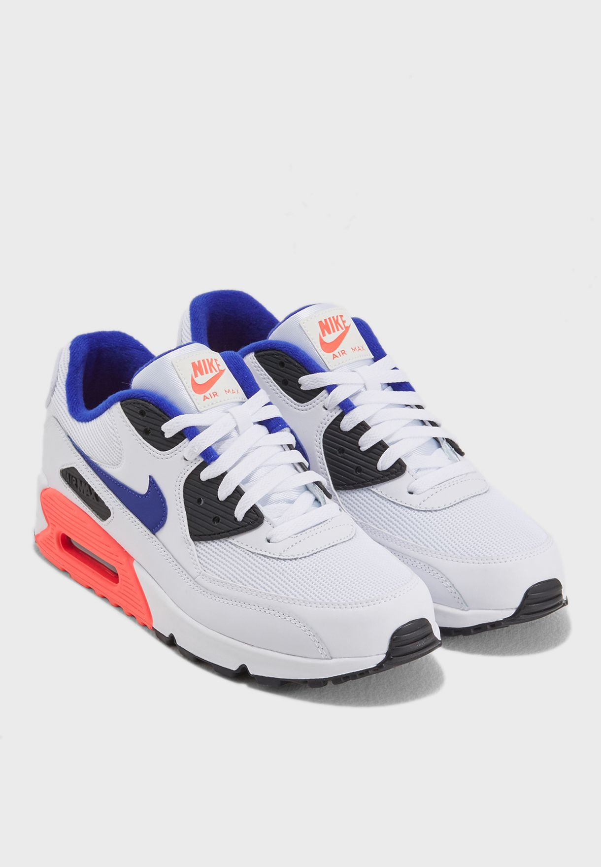 Nike Air Max 90 Essential Is As High As White Blue Zoom Running Shoes Size 537384 136 Best