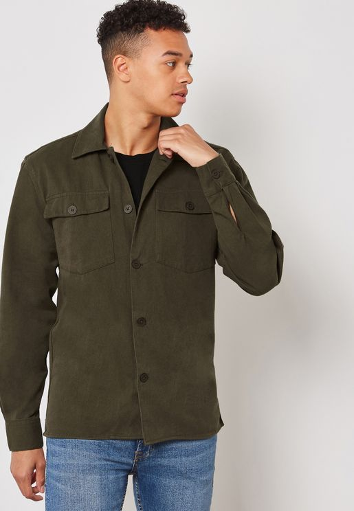 Fjell Drab Two Pocket Shirt
