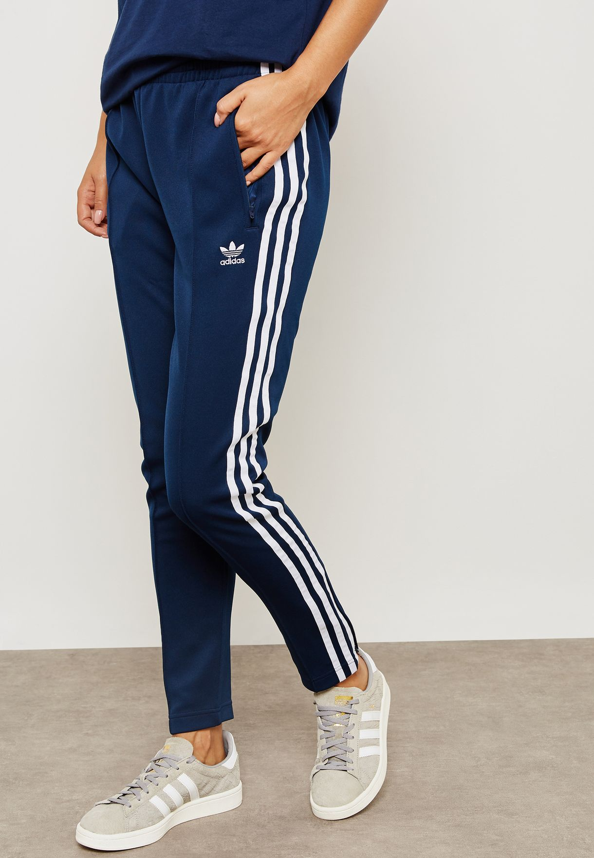 Shop adidas Originals navy adicolor Superstar Sweatpants DH3159 for Women  in Kuwait - AD478AT17YHE 65470b62b7