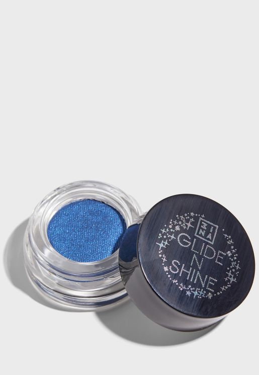 The Glide and Shine Eyeshadow - Blue Note