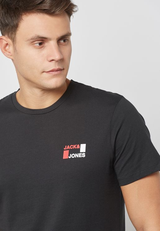 Jack Jones Black Clothing for Men   Online Shopping at Namshi Kuwait 3b6fc43b00