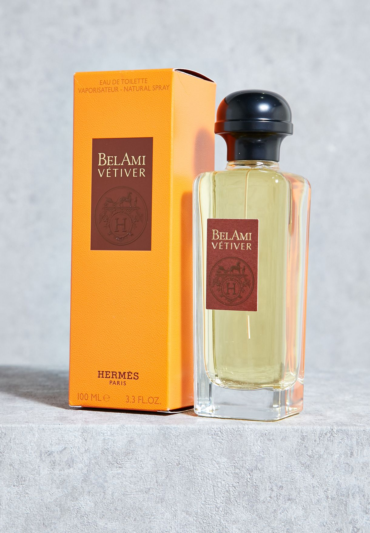 9e479457070 Shop Hermes clear Bel Ami Vetiver 100ml EDT 3346130390497 for ...