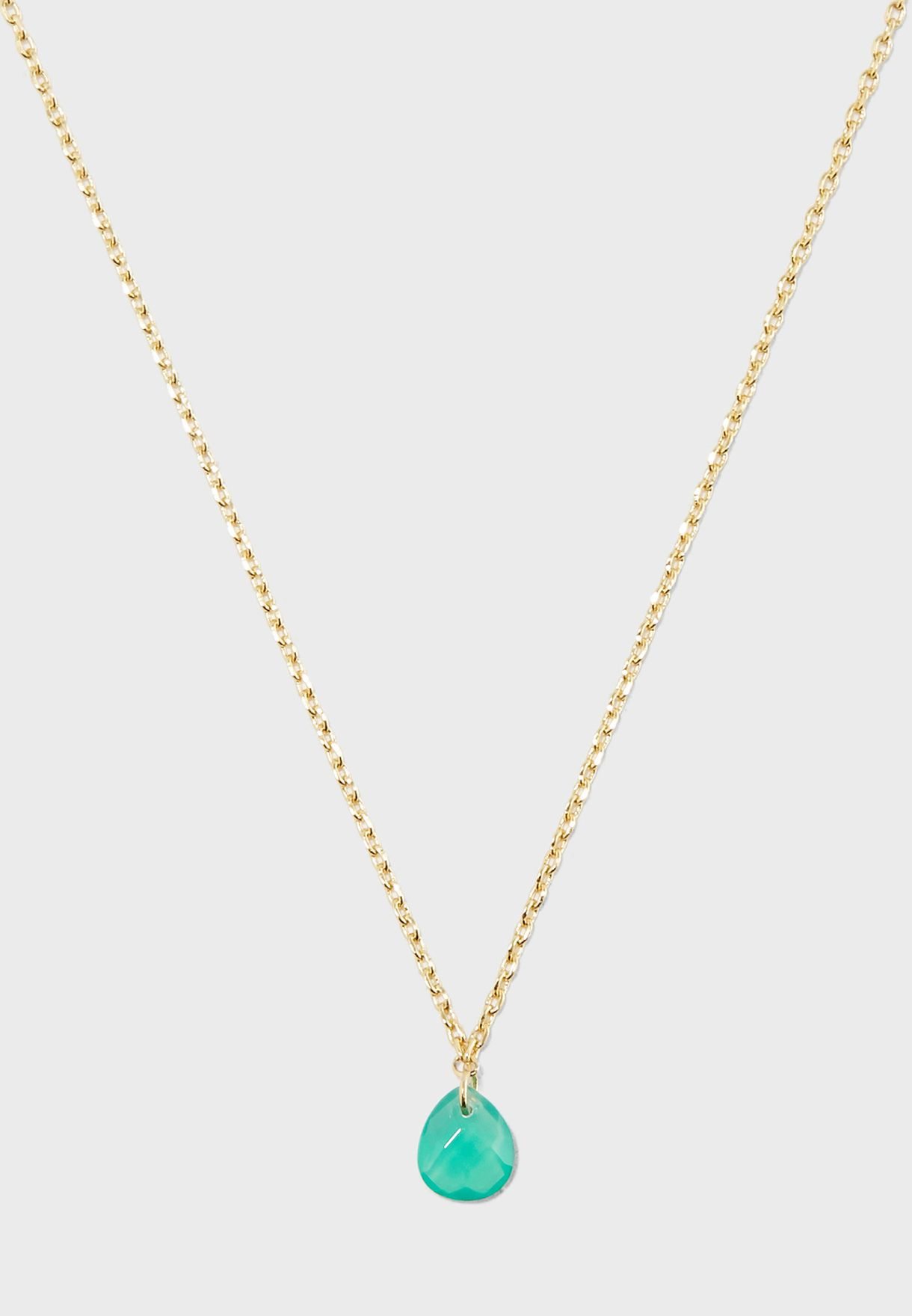 May Gift Envelope Birthstone Necklace
