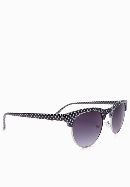 Womens Florence Polka Dot Sunglasses Eyelevel