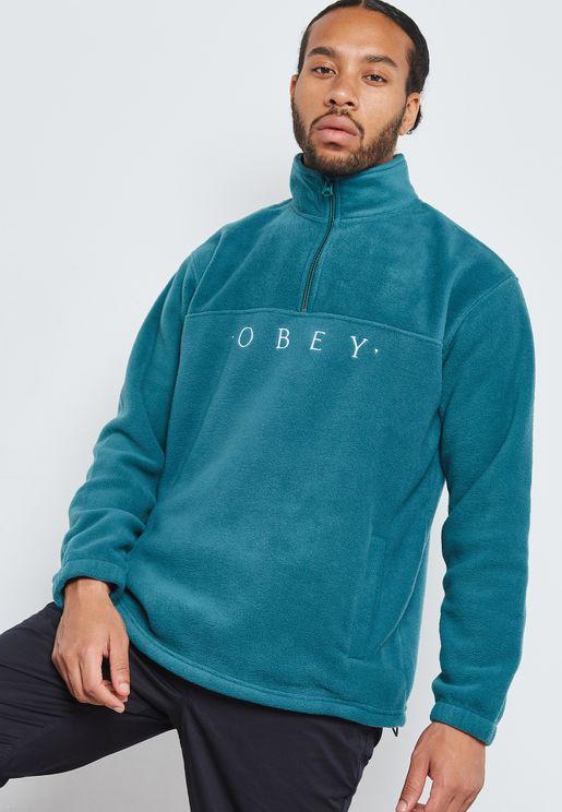 Mountain Mock Zip Sweatshirt