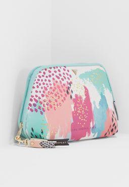 Paint Pattern Make Up Bag