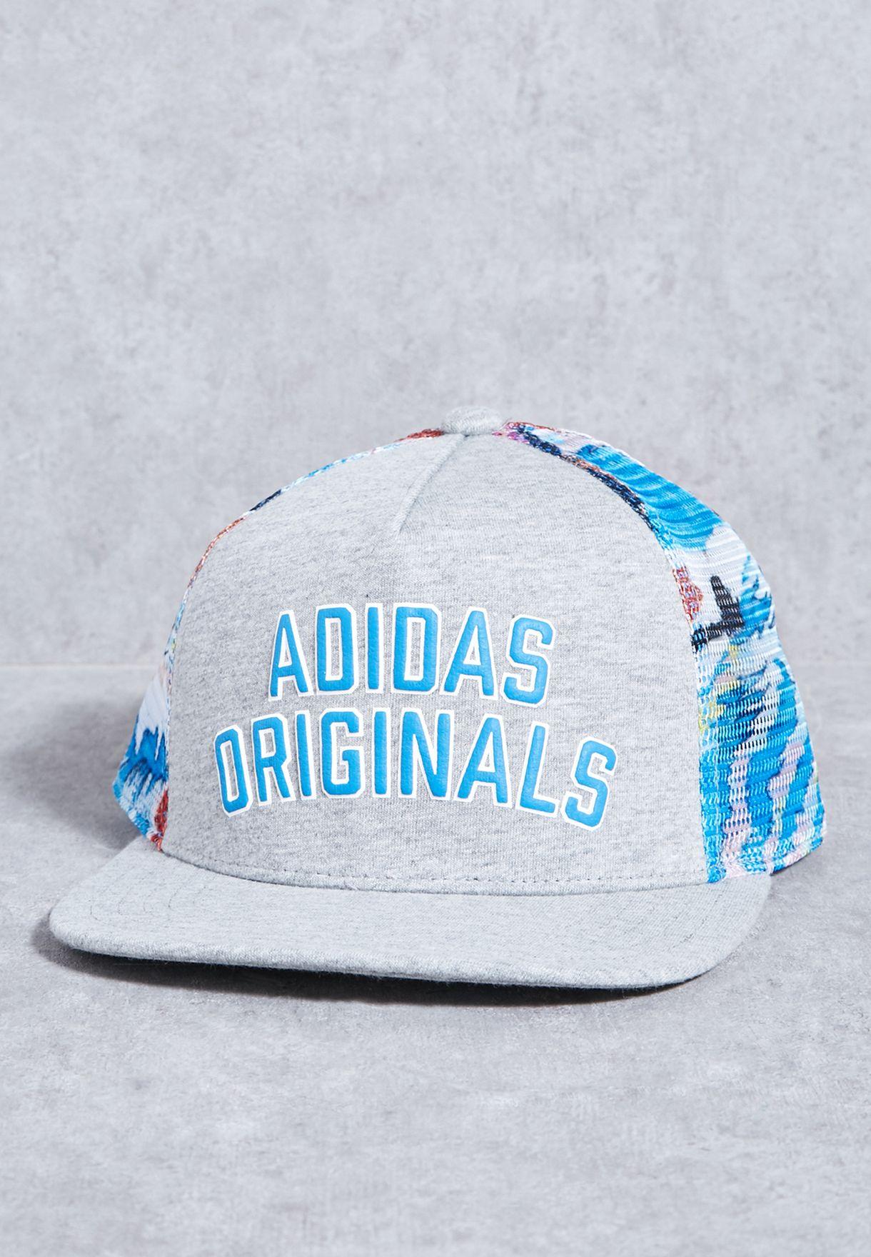 03c560955ef Shop adidas Originals grey Logo Cap BK2190 for Men in UAE - AD478AC17SBY