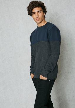 Spectre Colour Block Sweater