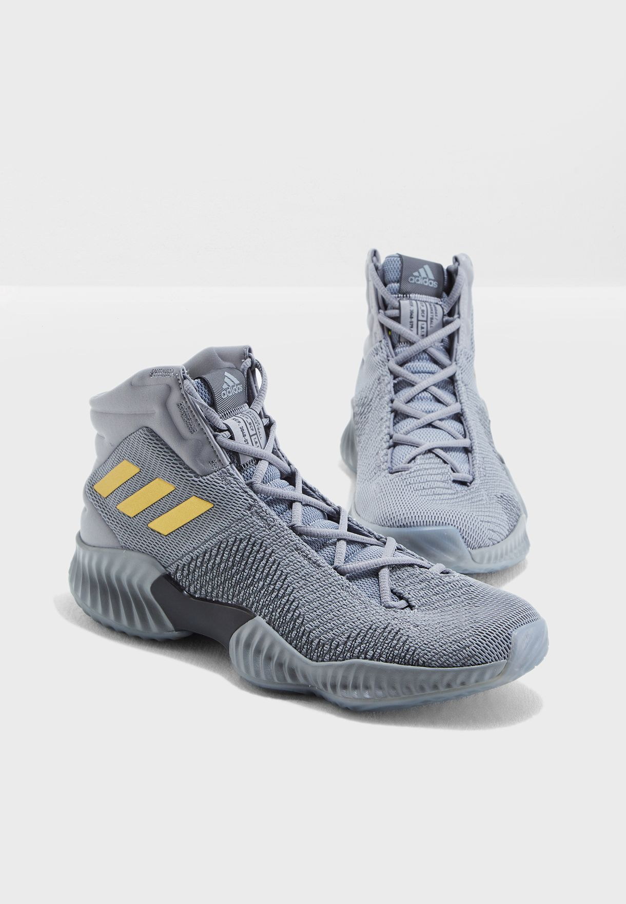 d97ee65cf37b0 Shop adidas grey Pro Bounce 2018 AH2656 for Men in Saudi - AD476SH17FGW