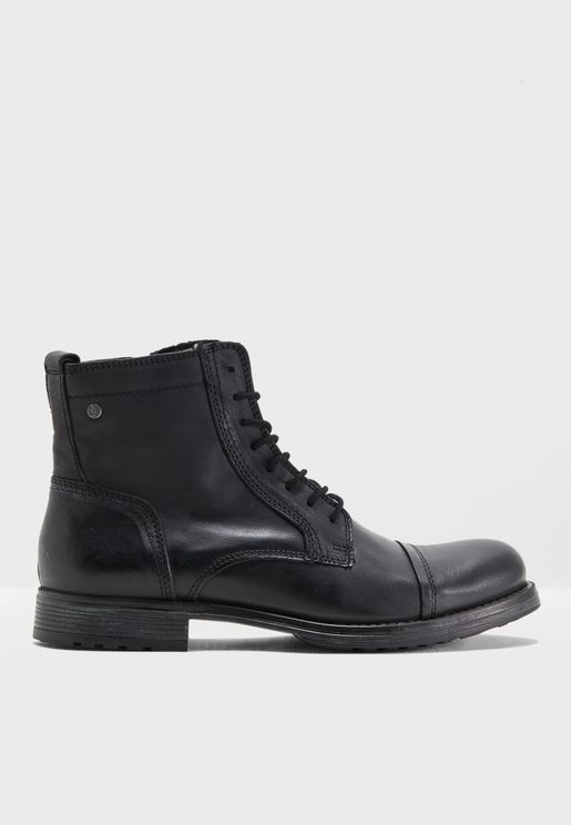 Russel Leather Boots
