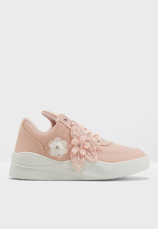 Floral Low Top Sneaker