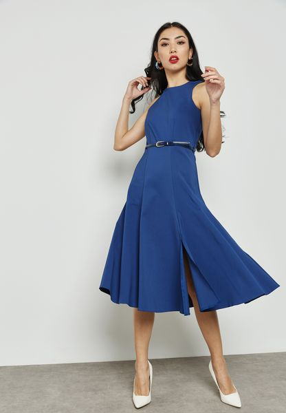 Fitted Swing Dress