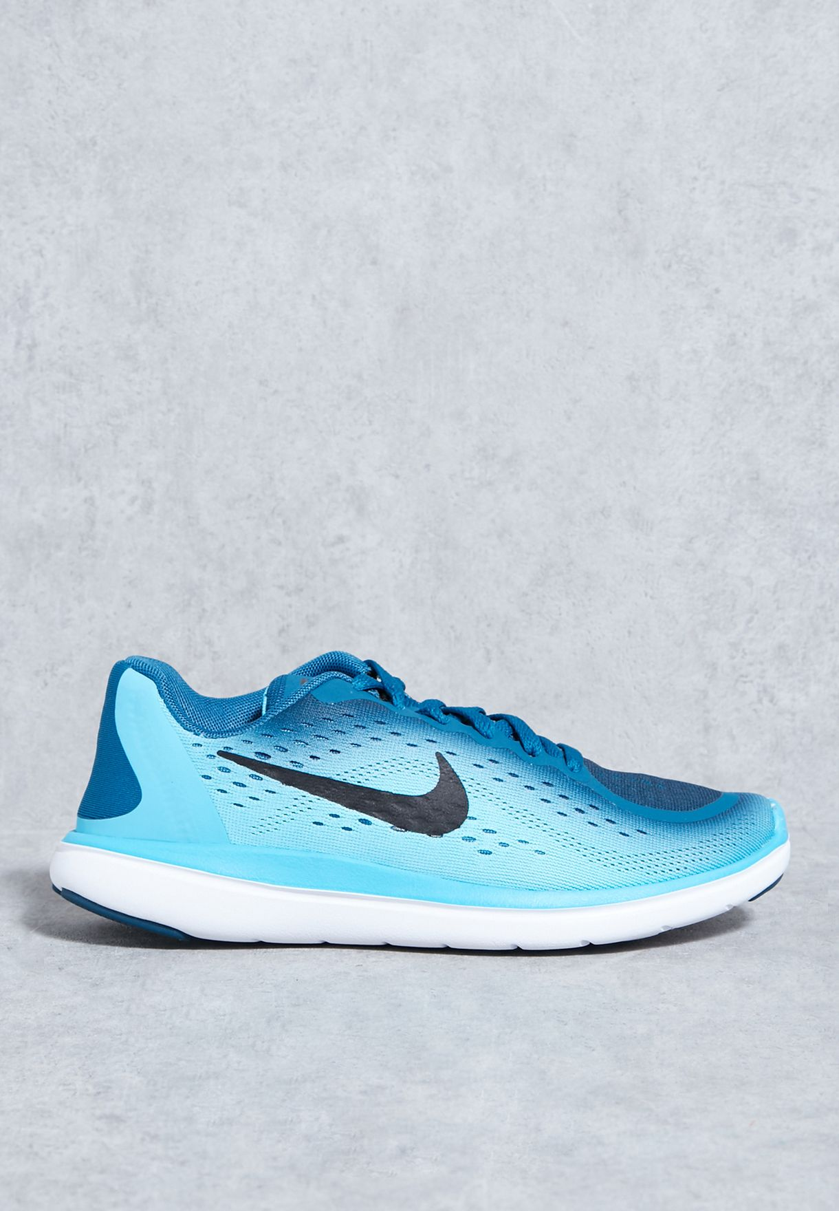 best service 9be84 497d7 30%OFF Shop Nike blue Flex RN 2017 Youth 904236400 for Children in UAE