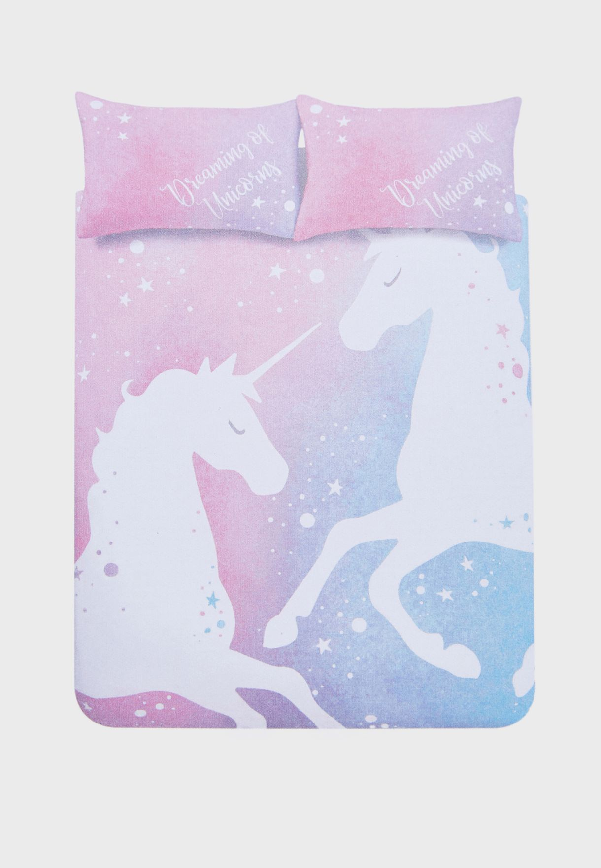 Double Bed Set - Unicorn