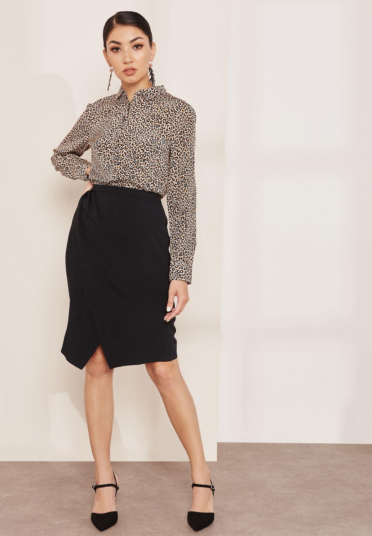 Rita Wrap Skirt