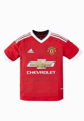 adidas Youth MUFC Home Jersey