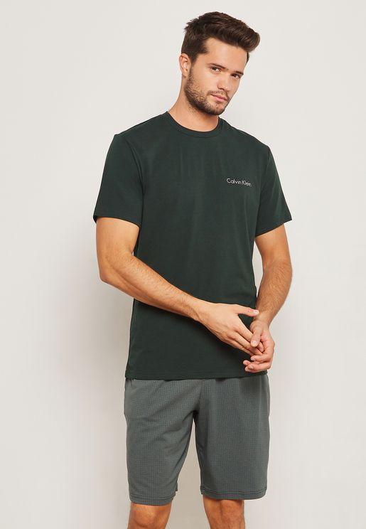 Logo T-Shirt + Essential Shorts