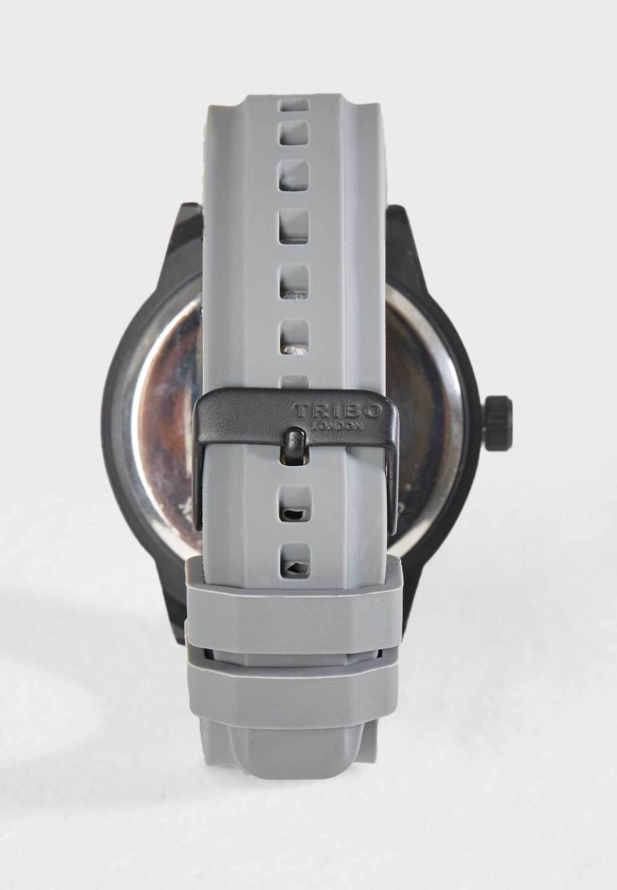 Casual Silicon Strap Watch