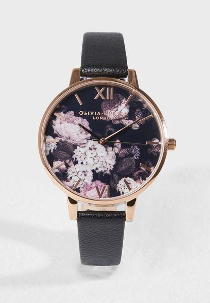 Signature Florals Analog Watch