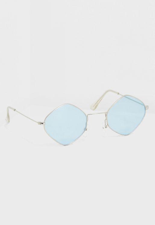 نظارة شمسية مضلعة