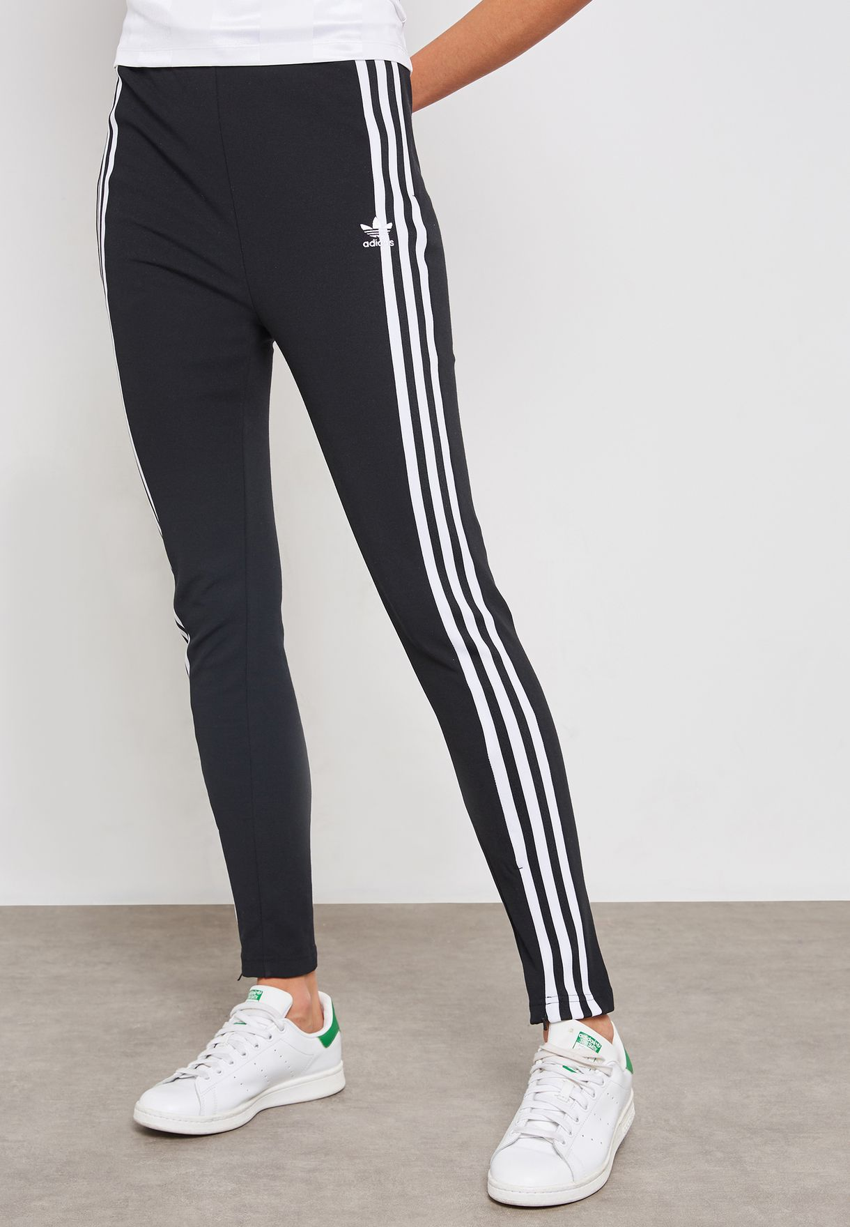 9153ca45b528 Shop adidas Originals black 3 Stripe Sweatpants DH2719 for Women in UAE -  AD478AT17KDU