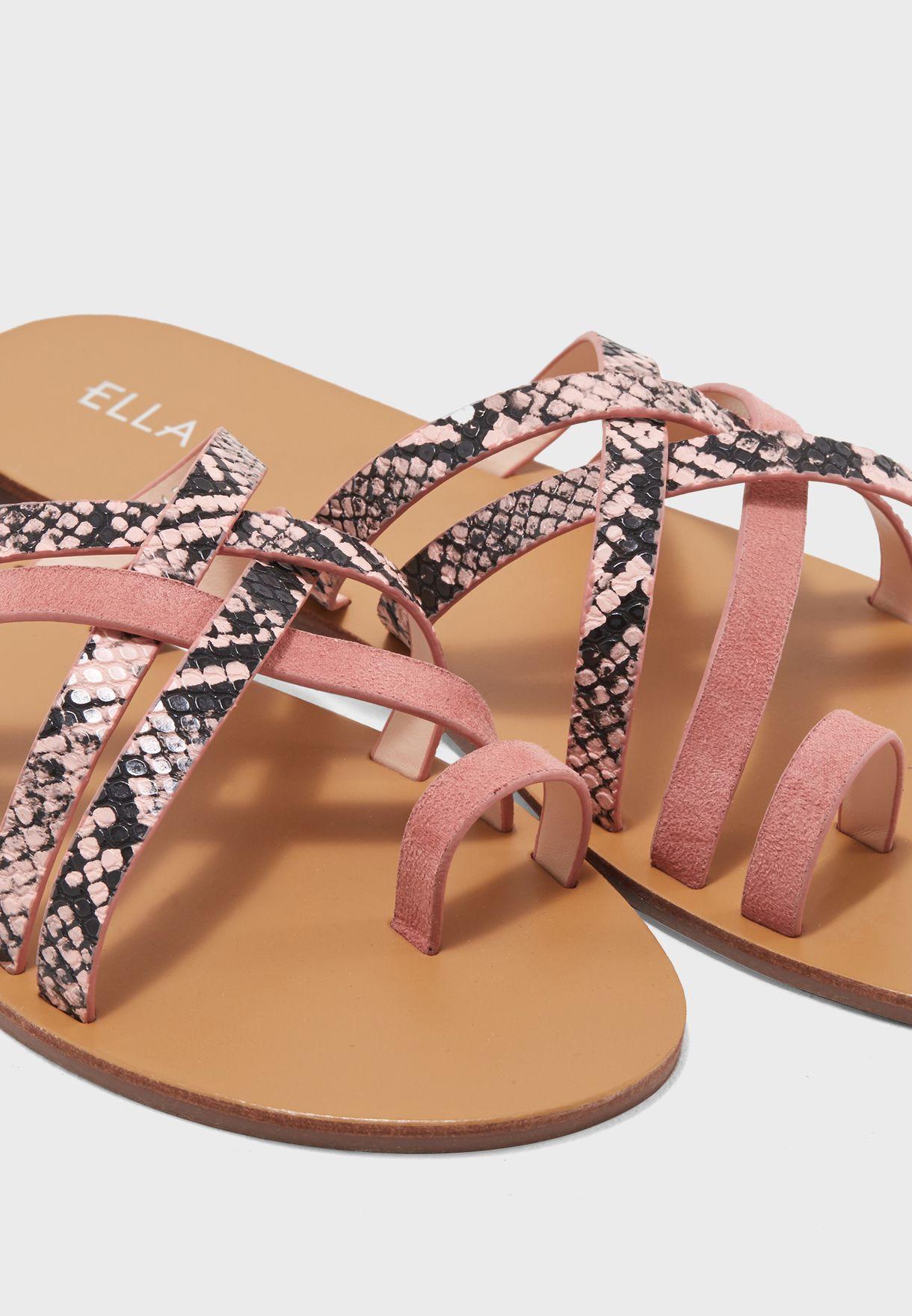 391e8d9554d71b Shop Ella pink Alyson Sandal A533-302 for Women in UAE - CO949SH17WJE