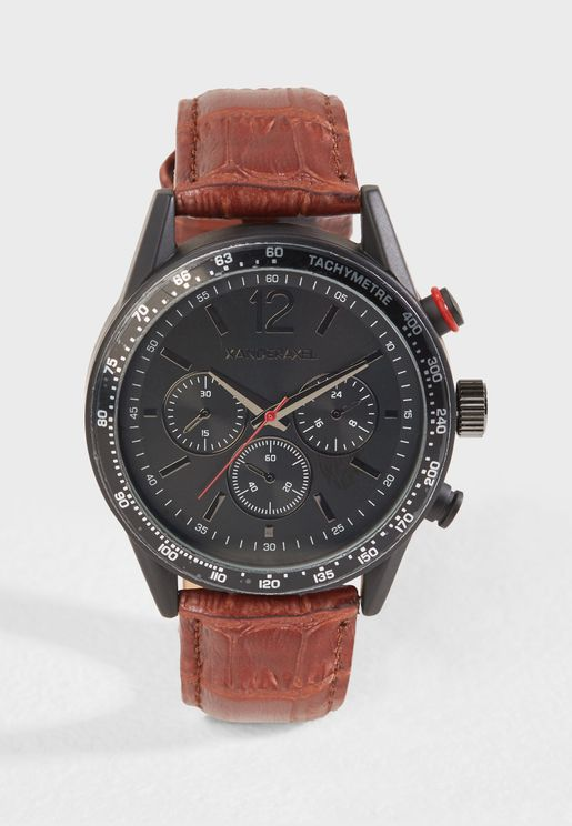 Chronograph Detail Casual Watch