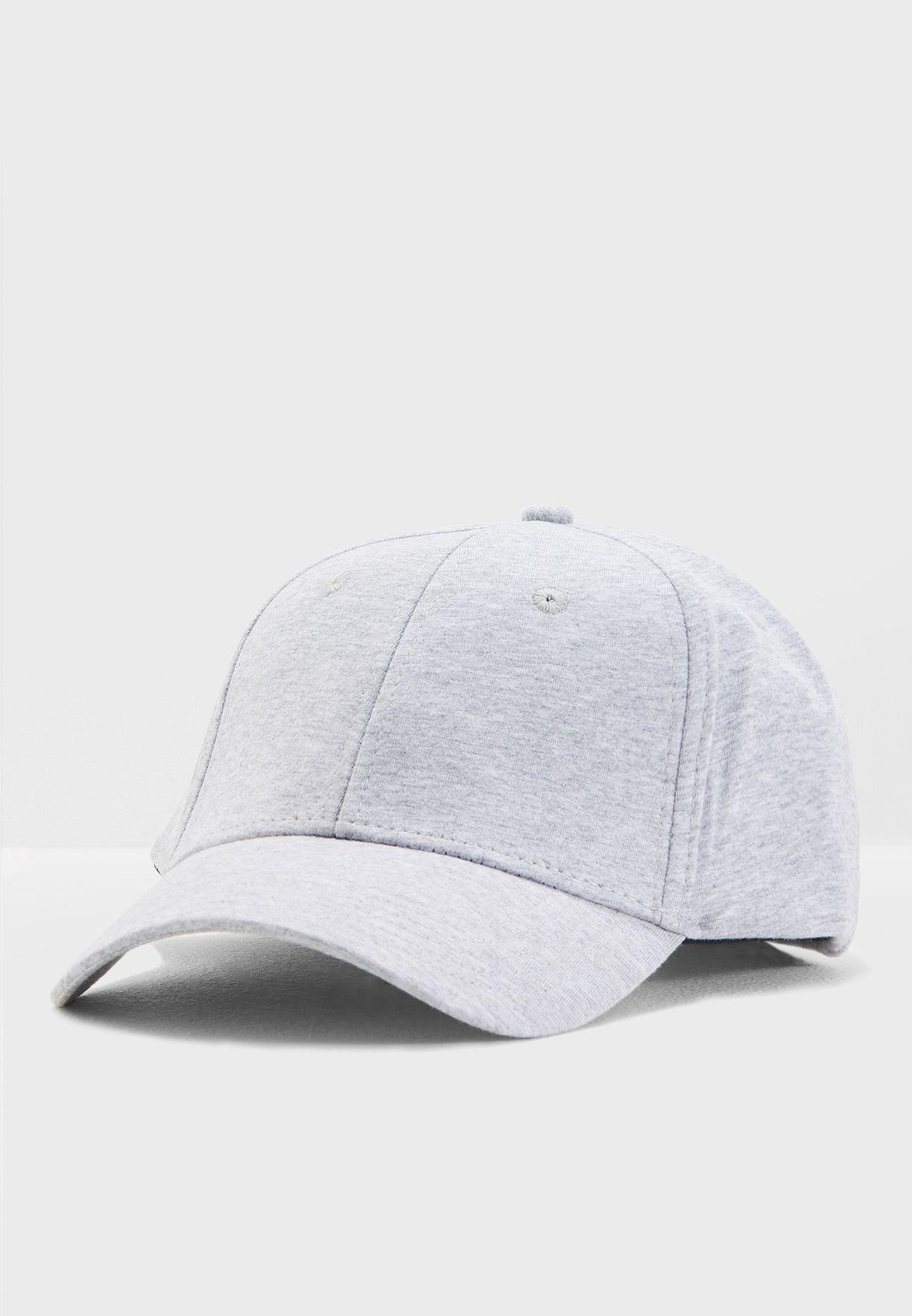 4dc0ee19d Shop Jack Jones grey Baseball Cap 12133259 for Men in UAE - JA872AC17ZIC