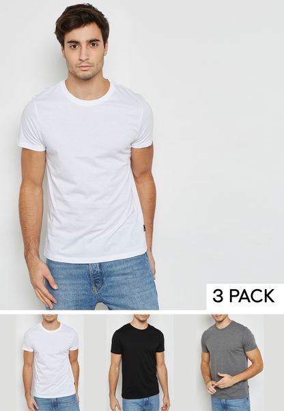 3 Pack Essential T-Shirt